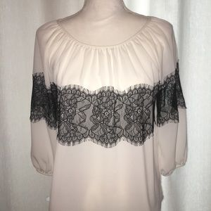 Gorgeous blouse and white blouse with pretty lace
